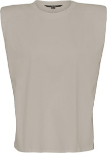 Bluzka WARESHOP w stylu casual bez rękawów