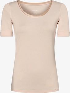 T-shirt Marc Cain z krótkim rękawem w stylu casual z jedwabiu