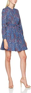 Niebieska sukienka French Connection