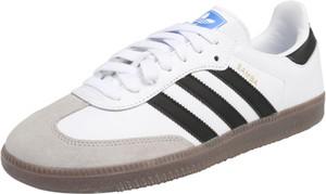 Trampki Adidas Originals w stylu casual ze skóry z płaską podeszwą