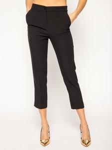 Czarne spodnie Liu-Jo w stylu casual
