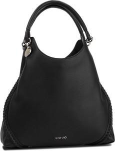86d47efbb7f6c Czarna torebka Liu-Jo duża w stylu casual