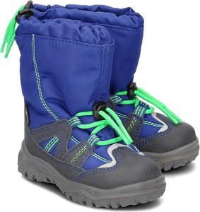 Buty dziecięce zimowe Superfit z tkaniny