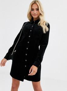 Czarna sukienka JDY z długim rękawem mini