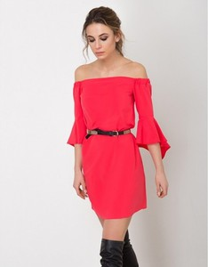 Sukienka Flawdress z długim rękawem mini hiszpanka