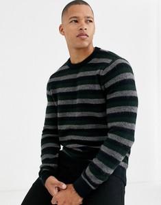 Granatowy sweter Burton Menswear