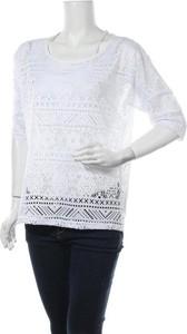 Bluzka Elle Nor z długim rękawem w stylu casual z okrągłym dekoltem