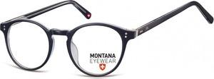 Stylion Okrągłe oprawki optyczne,lenonki korekcyjne Montana MA62H ciemnogranatowe
