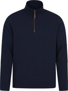Niebieska bluza Mountain Warehouse z bawełny