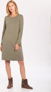 Sukienka volcano.pl z zamszu mini w stylu casual