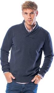 Niebieski sweter Heavy Tools w stylu casual