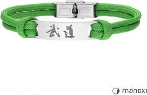 Manoki BA711Z zielona bransoletka BUDO