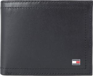 Portfel męski Tommy Hilfiger ze skóry na karty kredytowe