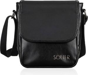 Czarna torba Solier