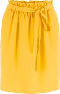 Żółta spódnica bonprix bpc bonprix collection
