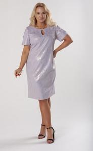 Sukienka Ptakmoda.com z krótkim rękawem dopasowana mini
