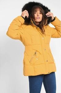 Żółta kurtka ORSAY krótka w stylu casual