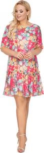 Sukienka Ptak Moda mini z tiulu