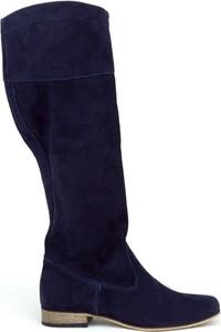 Kozaki Zapato w militarnym stylu na obcasie
