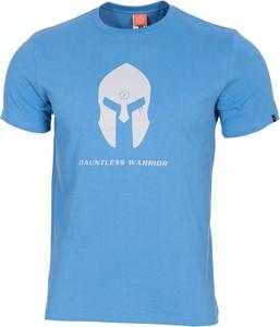 T-shirt Pentagon z bawełny z krótkim rękawem w młodzieżowym stylu