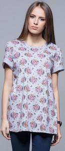 T-shirt Eharmony z dresówki z krótkim rękawem