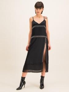 Czarna sukienka Diesel z dekoltem w kształcie litery v