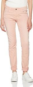 Różowe spodnie mac