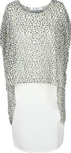 Sukienka Fokus z krótkim rękawem z tkaniny midi