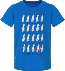 Niebieska koszulka dziecięca Endo