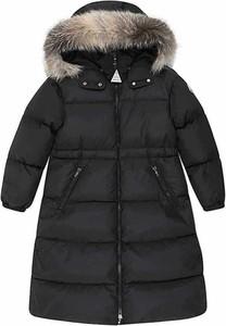 Czarny płaszcz dziecięcy Moncler