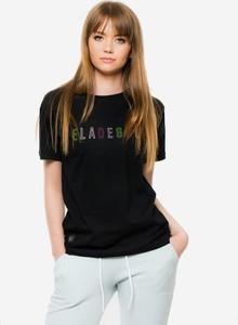 Czarna bluzka Elade z bawełny