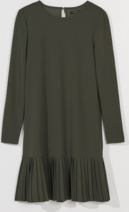 Zielona sukienka Mohito trapezowa