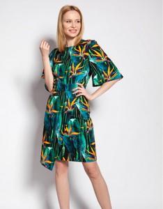 Sukienka Lanti z długim rękawem dopasowana