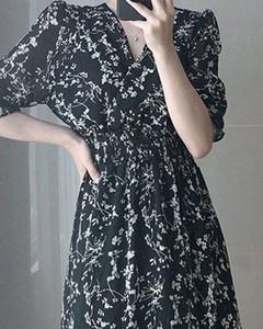 Sukienka Kendallme z długim rękawem trapezowa