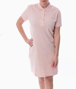 Sukienka Lacoste z krótkim rękawem
