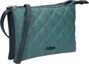 Zielona torebka NOBO średnia ze skóry ekologicznej