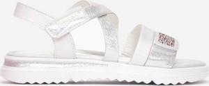 Srebrne buty dziecięce letnie born2be