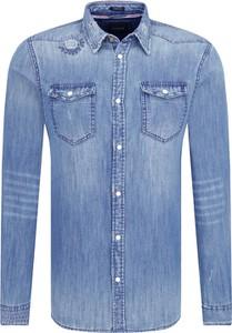 Koszula Guess Jeans z długim rękawem w stylu casual
