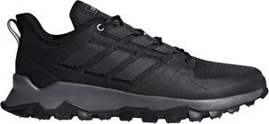 Granatowe buty sportowe Adidas sznurowane