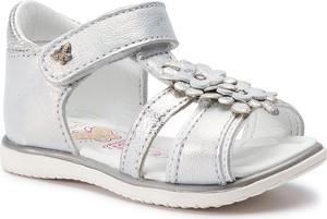 Buty dziecięce letnie Lasocki Kids ze skóry na rzepy