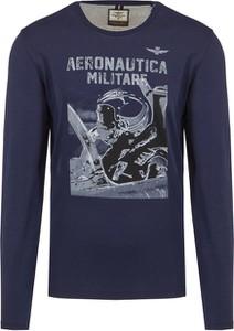 T-shirt Aeronautica Militare w młodzieżowym stylu