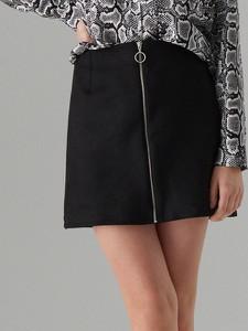 Czarna spódnica Mohito mini w stylu casual