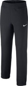 Czarne spodnie dziecięce Nike z plaru