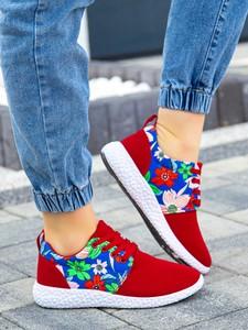 Czerwone buty sportowe sklep-szpilka24