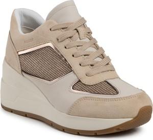 Sneakersy Geox sznurowane