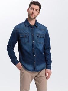 Koszula Cross Jeans z długim rękawem w stylu casual