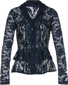 Bluzka bonprix bpc selection premium z dekoltem w kształcie litery v