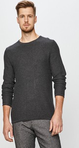 Czarny sweter Premium by Jack&Jones w stylu casual z dzianiny