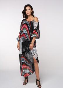 Sukienka redifashion_com z długim rękawem