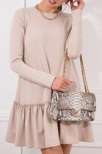 Sukienka JOMU mini w stylu casual z bawełny